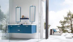 bagno mobile blu